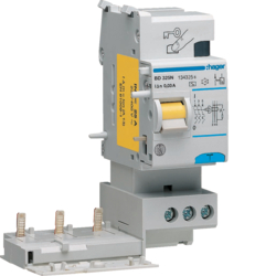 BD325N Blocco Differenziale 3 Poli 30 Ma In<25 A Tipo A 3 M. Din