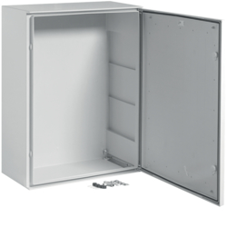 FL229B Quadro poliestere,  Orion.Plus,  porta cieca 800x600x300 mm