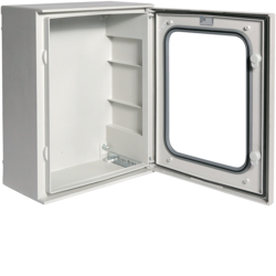 FL263B Quadro poliestere,  Orion.Plus,  porta vetro 500x400x200 mm