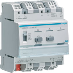 TYA662AN Modulo TP KNX Plus dimmer 2 Out Combinabili 600W Max. 230V 4M