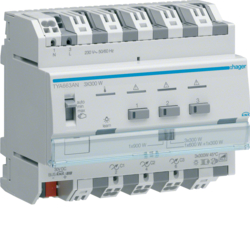TYA663AN Modulo TP KNX Plus dimmer 3 Out Combinabili 900W Max. 230V 6M