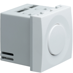 WS060 Systo 2M Dimmer Universale Rotativo Bianco