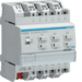 TXA606D Modulo TP KNX easy 6 Out 16A AC1 230V C-Load 4M