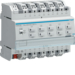 TXA610D MODULO USCITA ON/OFF BUS KNX - 10 OUT 16A AC1 230V CARICHI CAPACITIVI - 6 M. DIN